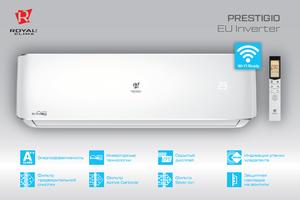 Настенный инверторный кондиционер Royal Clima RCI-P61HN серия Prestigio EU Inverter