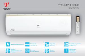 Настенный инверторный кондиционер Royal Clima RCI-TG30HN серия Triumph Gold EU Inverter