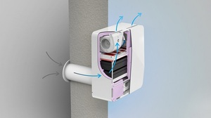 Бытовая приточная вентиляционная установка Бризер Tion 3S SPECIAL