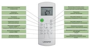 Кондиционер Lessar LS-H28KPA2/LU-H28KPA2 серии Cool+