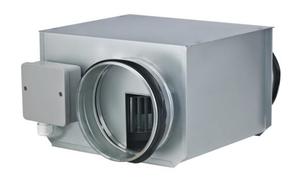 Низкопрофильный круглый вентилятор ZFOKr 100