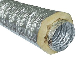 Гибкий теплоизолированный воздуховод с синтепоном ISO ZF 315мм х 10м