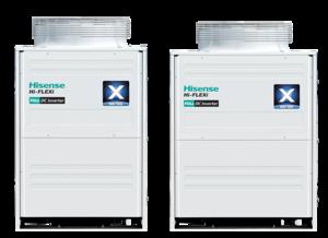 Наружный блок Hisense Hi-FLEXI Inverter AVWT-114UESSX серия X
