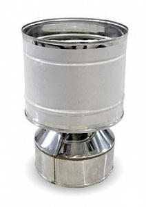 Дефлектор Термо d80/D160 AISI 430/0,5мм