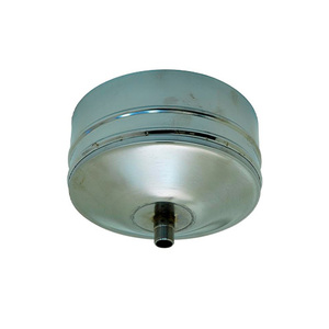 Заглушка Моно d80 L100 с конденсатоотводом AISI 430/0,5мм тип 1