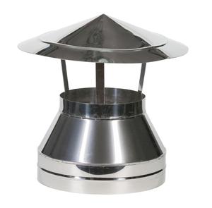 Зонт Термо d80/D160 L305 AISI 430/430, 0,5/0,5мм