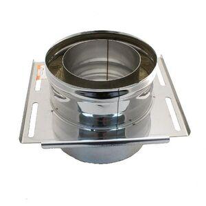 Крепление опорное Термо d80/D160 L200 A260xВ260 AISI 430/ОЦ, 0,5/0,5мм