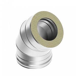 Отвод 45? Термо d80/D160 AISI 430/ОЦ 0,5/0,5мм
