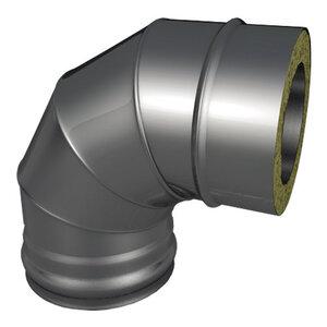 Отвод 90? Термо d80/D160 AISI 430/430 0,5/0,5мм