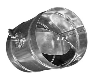 Воздушный клапан для круглых воздуховодов с ручной регулировкой ZSK-R 250