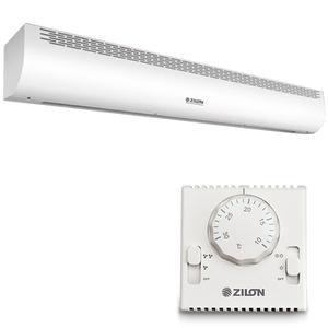 Электрическая тепловая завеса Zilon ZVV-1.0Е6S серии ПРИВРАТНИК 2.0