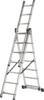Лестница алюминиевая Кратон трехсекционная 196/307/393, 8,9 кг 3х7 ст.