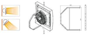 HР-С кронштейн для монтажа водяных тепловентиляторов Zilon