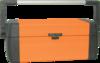 Ящик для инструмента металлический Кратон 590 мм